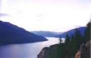 Slocan lake, British Colombia